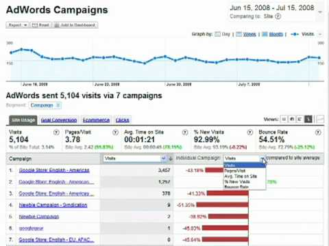 GA in 60 Seconds: Find Poor Performing Campaigns and Keywords